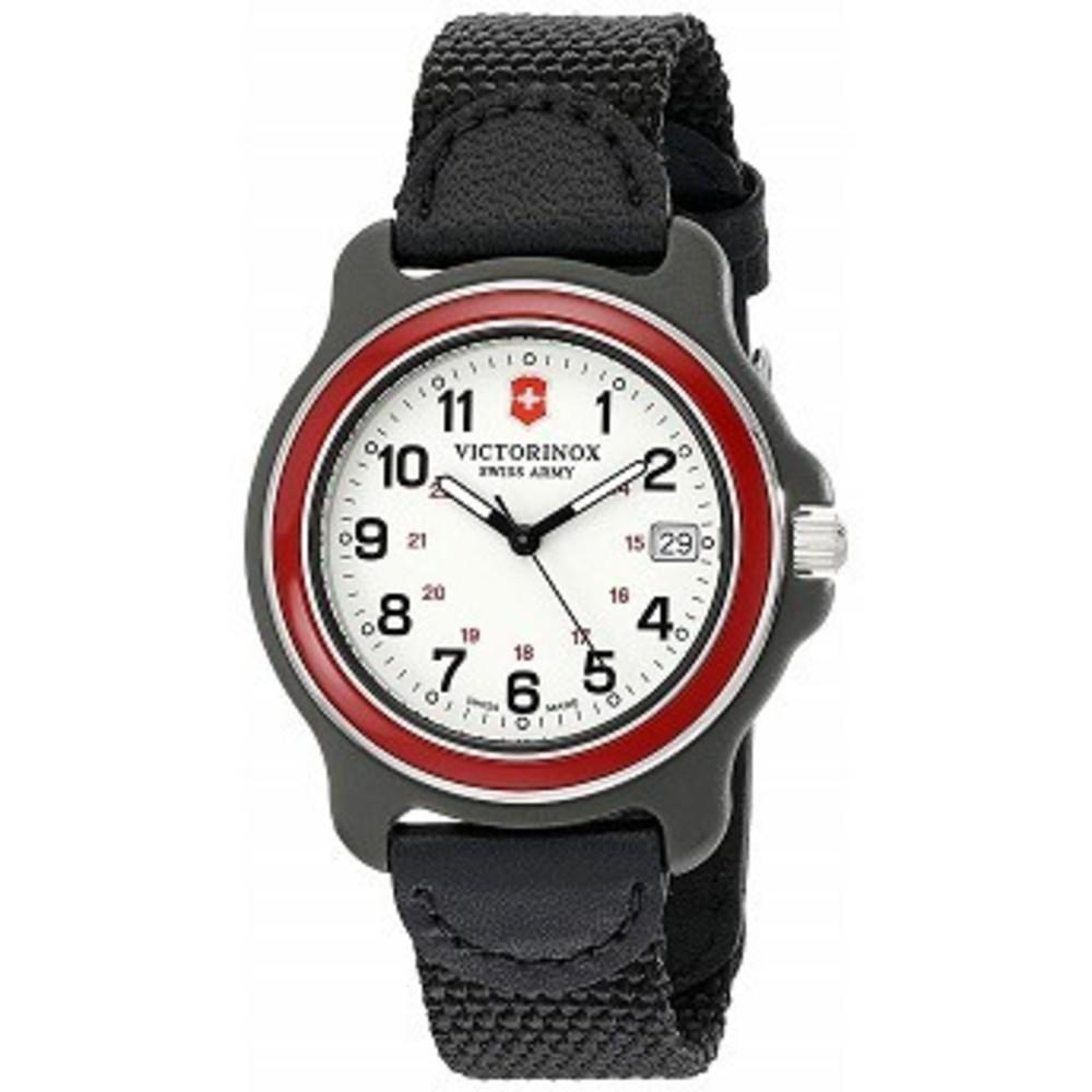 Victorinox Mens 249088 Original Analog Display Swiss Quartz Black Watch One color(ワンカラー)