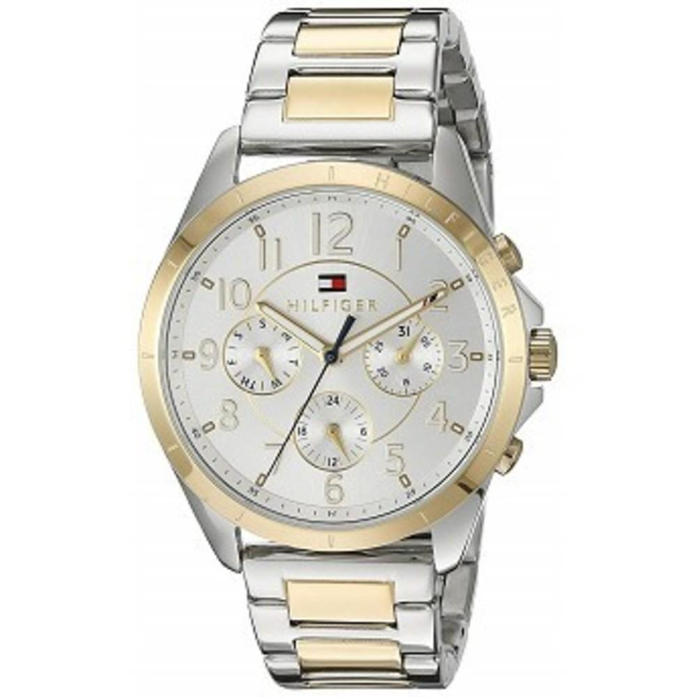 Tommy Hilfiger Womens Sport Quartz Two-Tone and Stainless Steel Casual Watch, Color:Two (Model: 1781607) One color(ワンカラー)