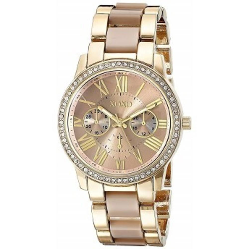 XOXO Womens Quartz Metal and Alloy Dress Watch, Color:Two Tone (Model: XO5873) One color(ワンカラー)