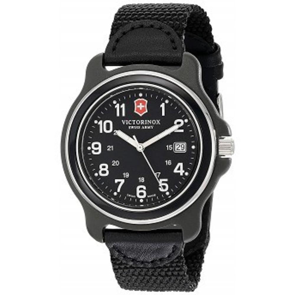 Victorinox Mens 249087 Original XL Black Stainless Steel Watch One color(ワンカラー)