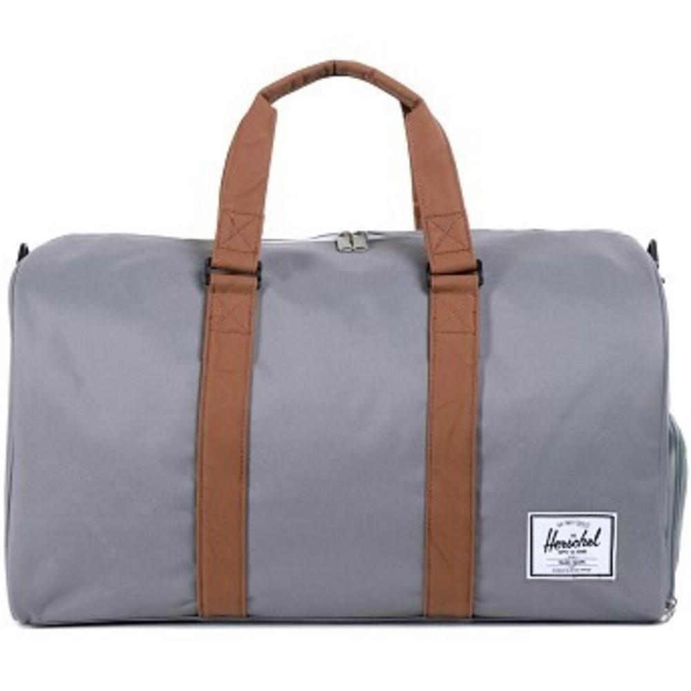 Novel Duffle Bag grey-tan