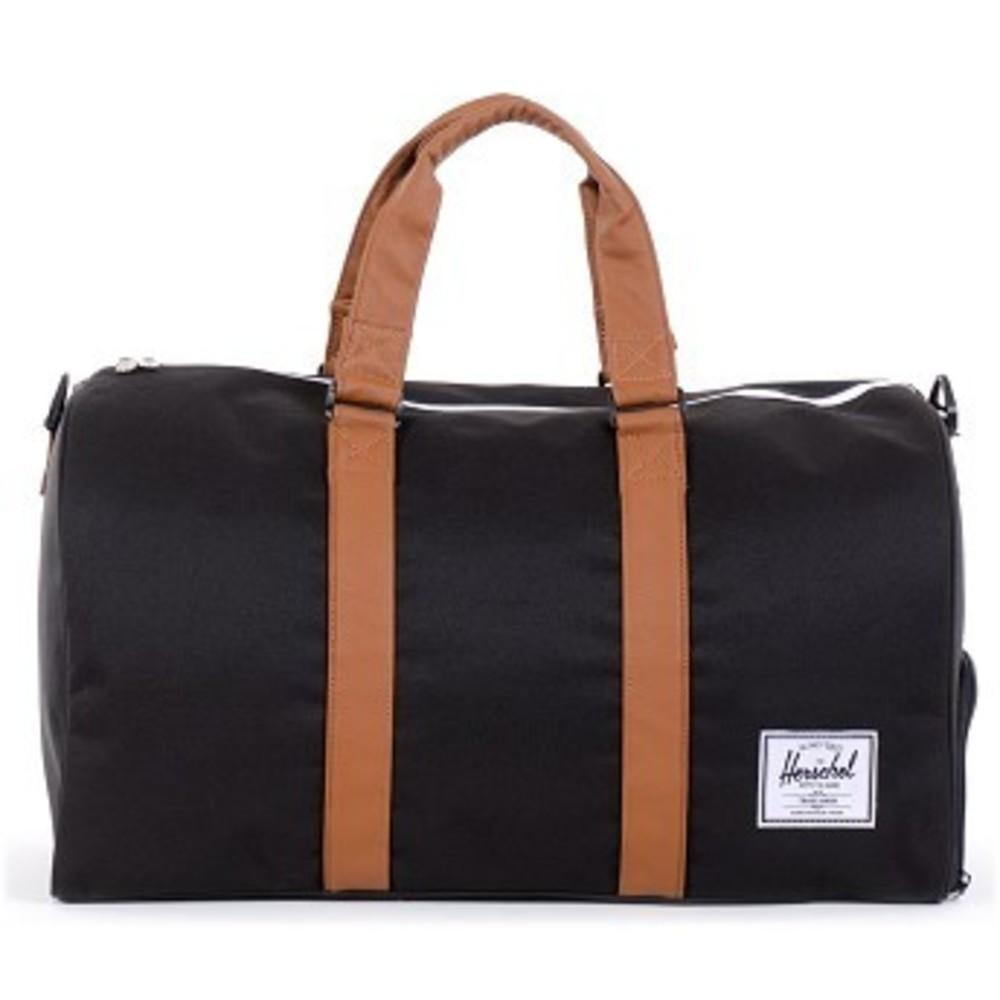 Novel Duffle Bag black-tan