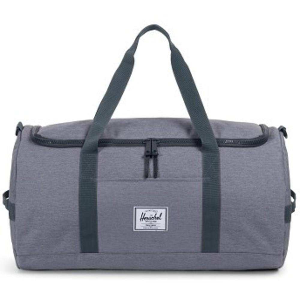 Sutton Duffle Bag mid grey crosshatch