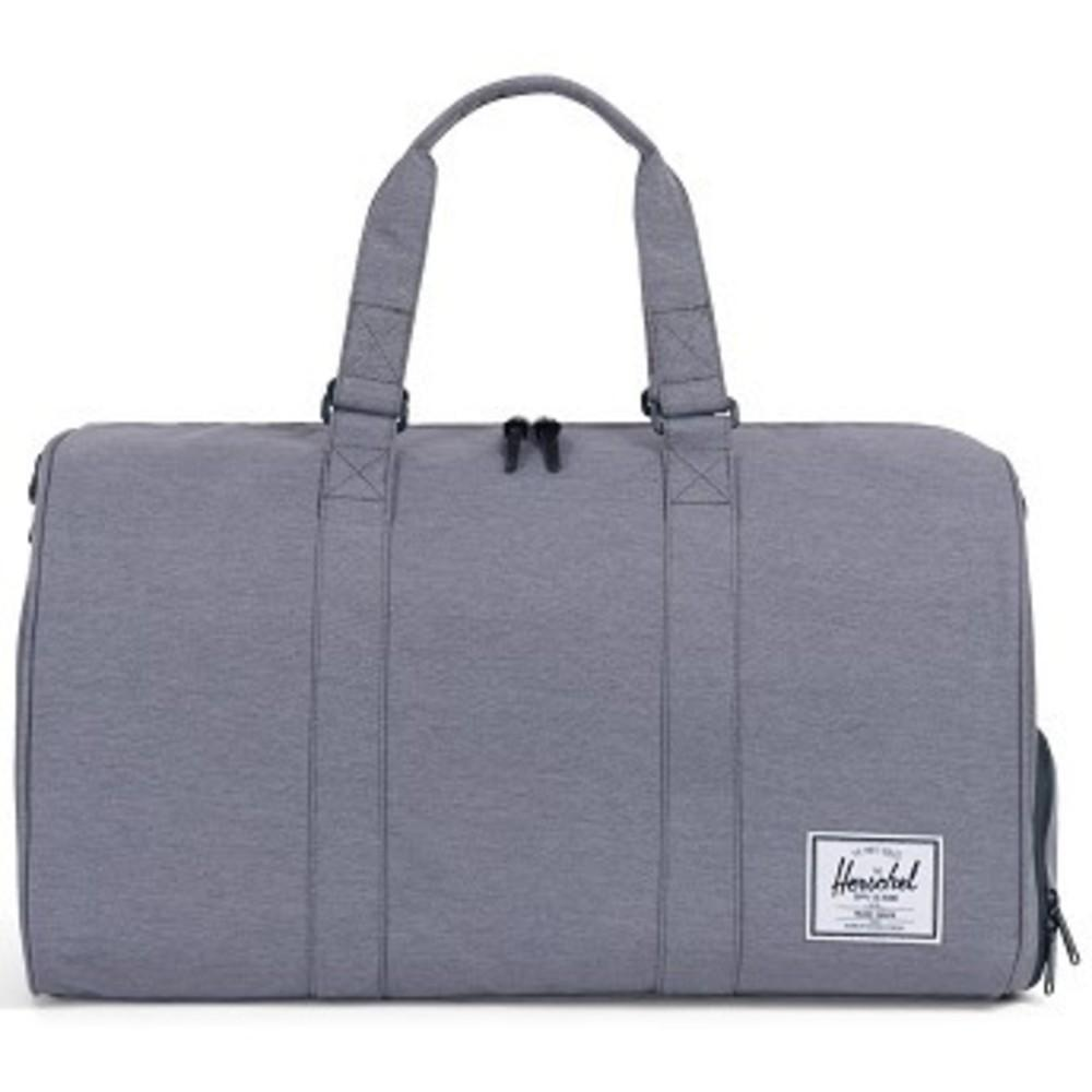 Novel Duffle Bag mid grey crosshatch