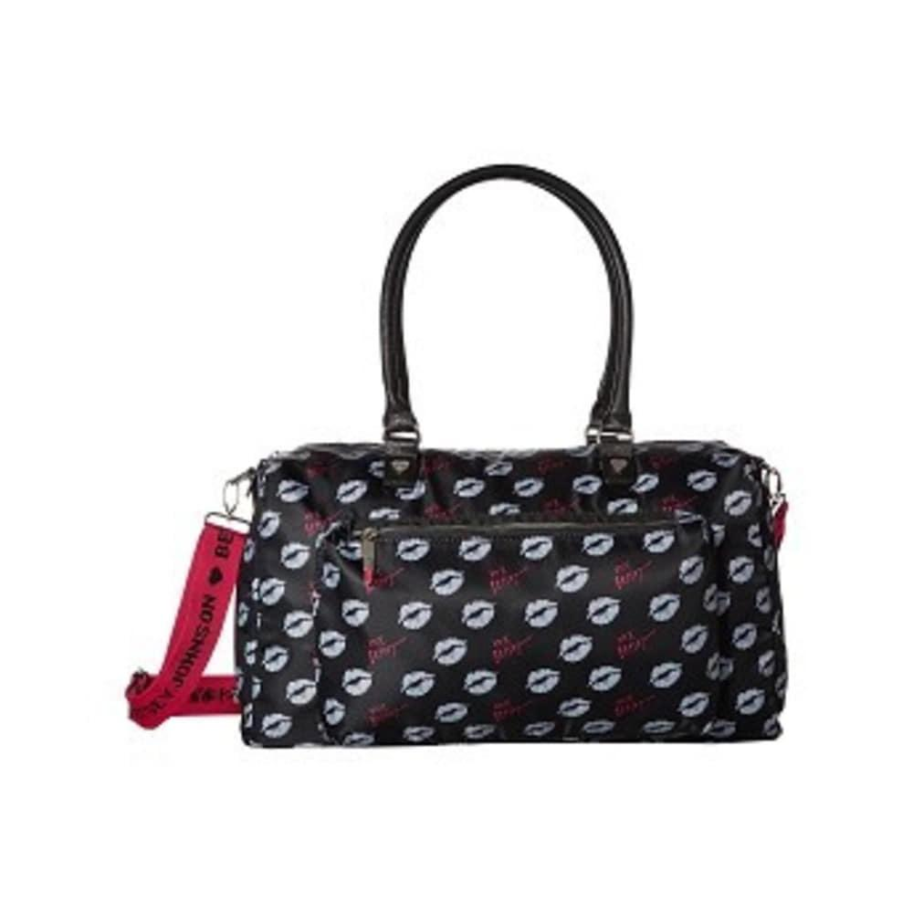 Sporty Weekender Bag Black-Multi