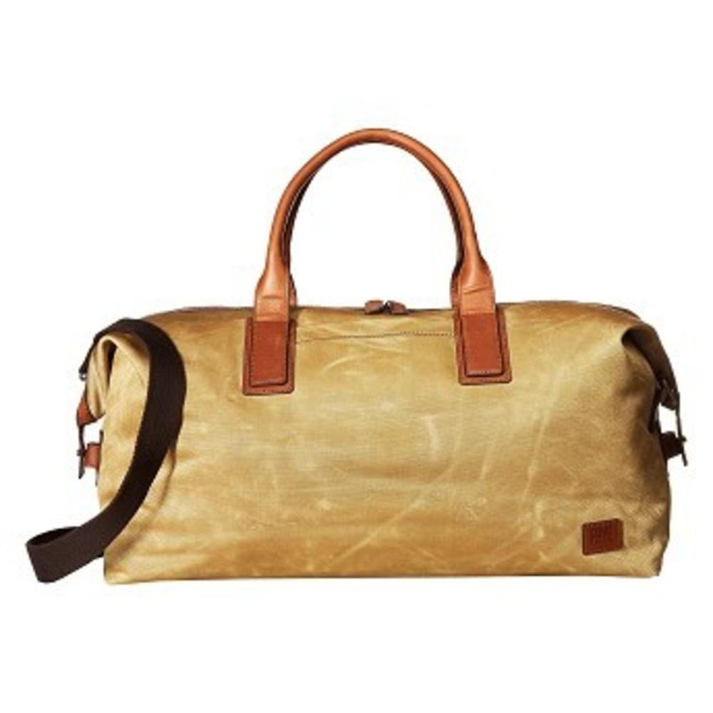 Carter Weekender Tan Canvas