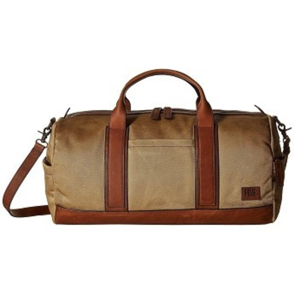 Carter Duffel Tan Canvas