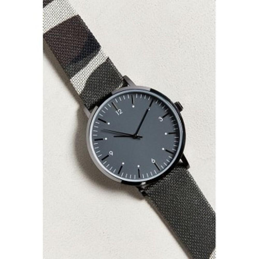 UO Camo Strap Watch Grey multi