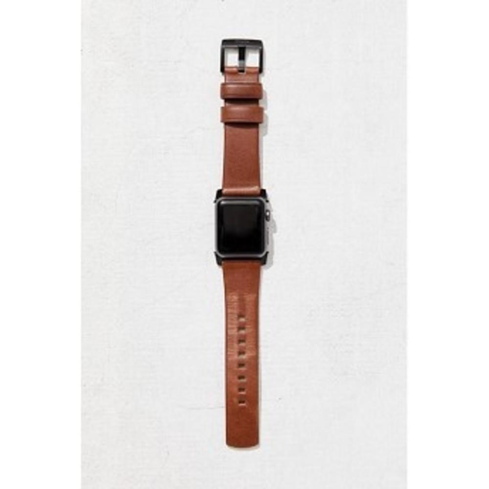 Nomad Leather Apple Watch Strap ブラウン