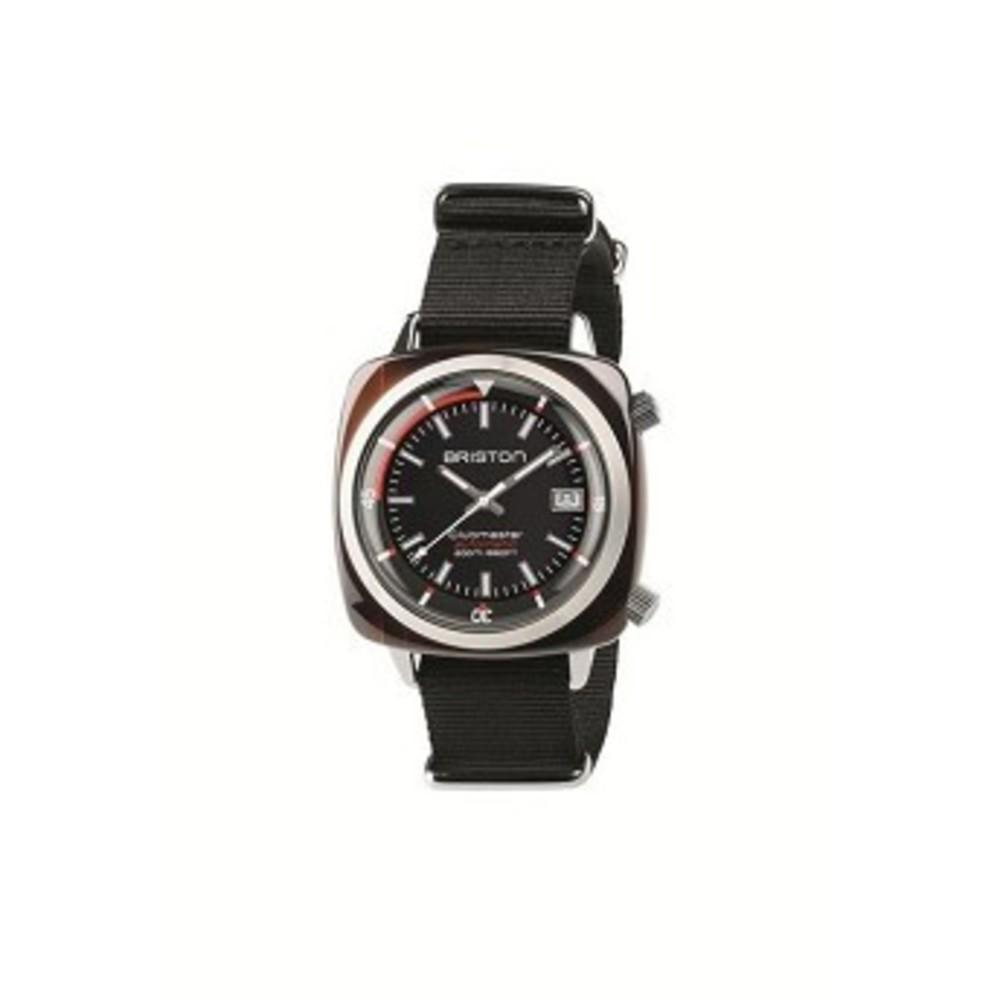 Briston Clubmaster Diver Acetate Watch ブラック
