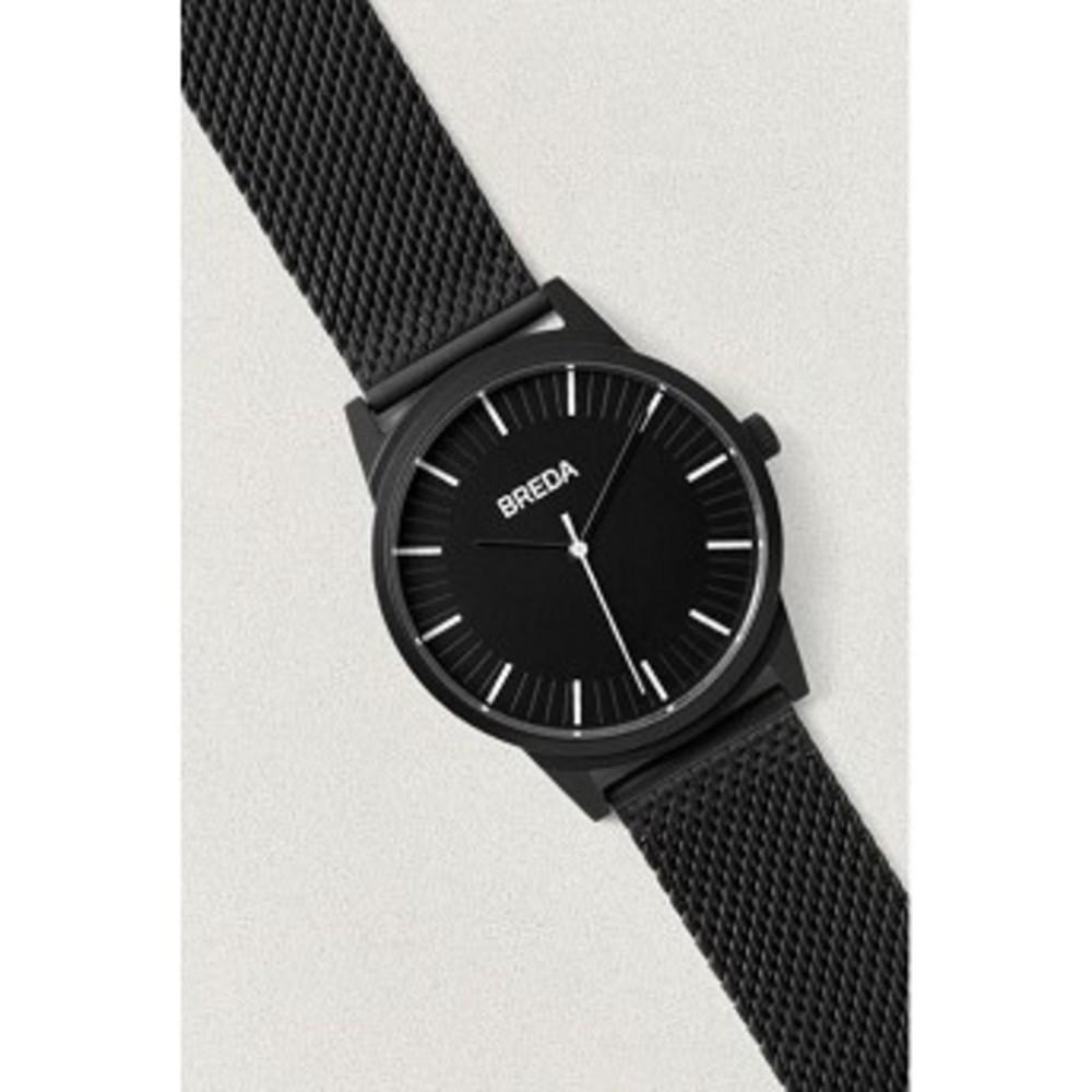BREDA Bresson Mesh Watch ブラック