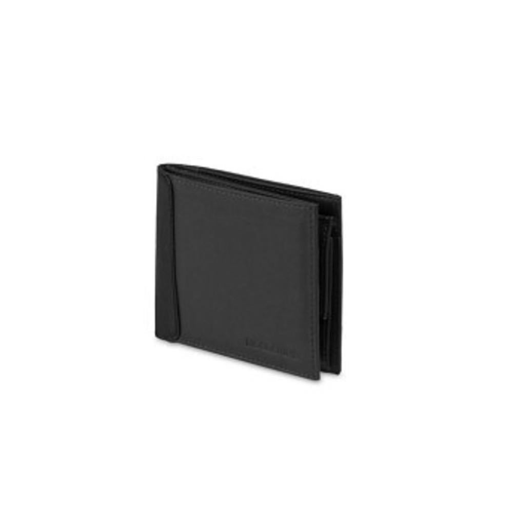 Moleskine Classic Leather Horizontal Wallet with Coin Pocket ブラック