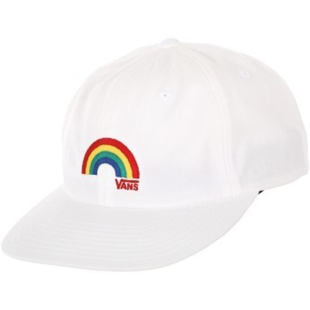 Willits Vintage Unstructured Strapback Hat ホワイト