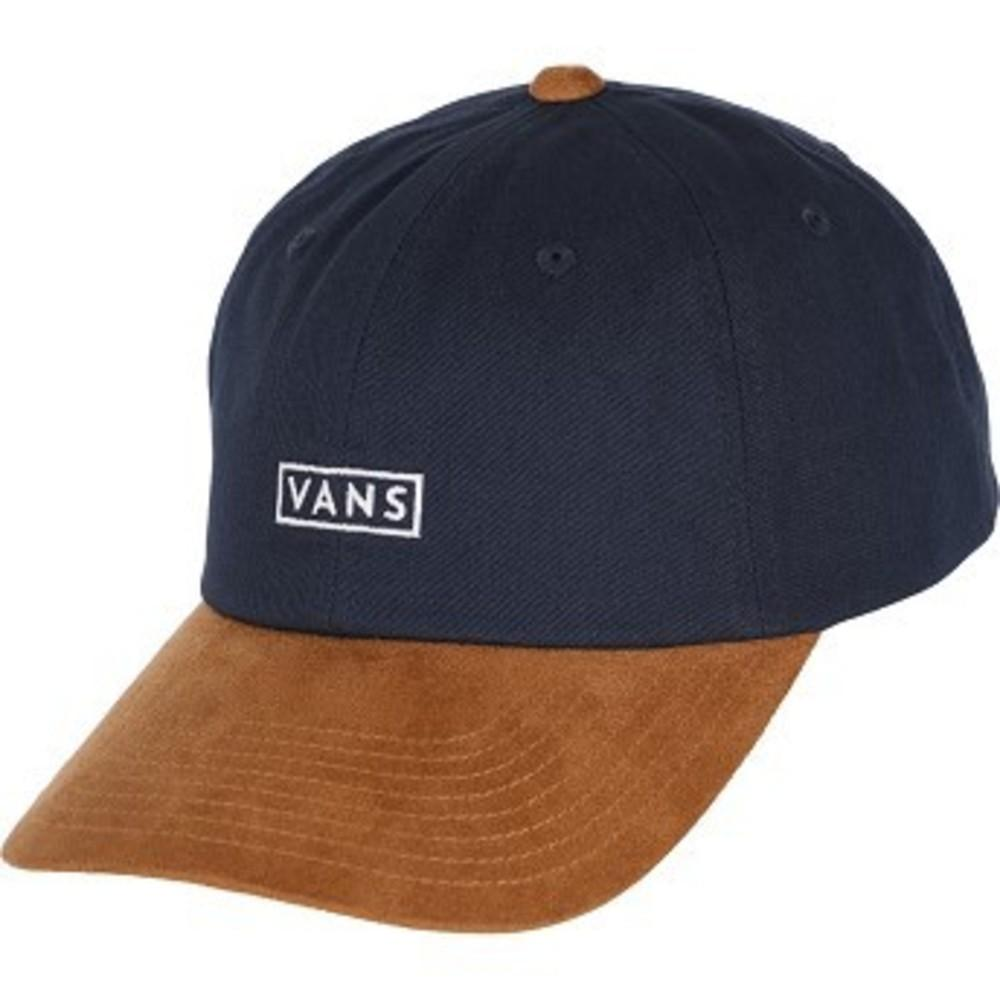 Vans Curved Bill Jockey Strapback Hat dress blues-khaki