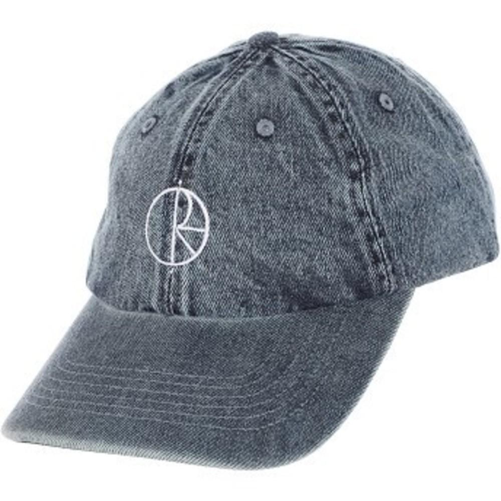 Denim Strapback Hat ブルー