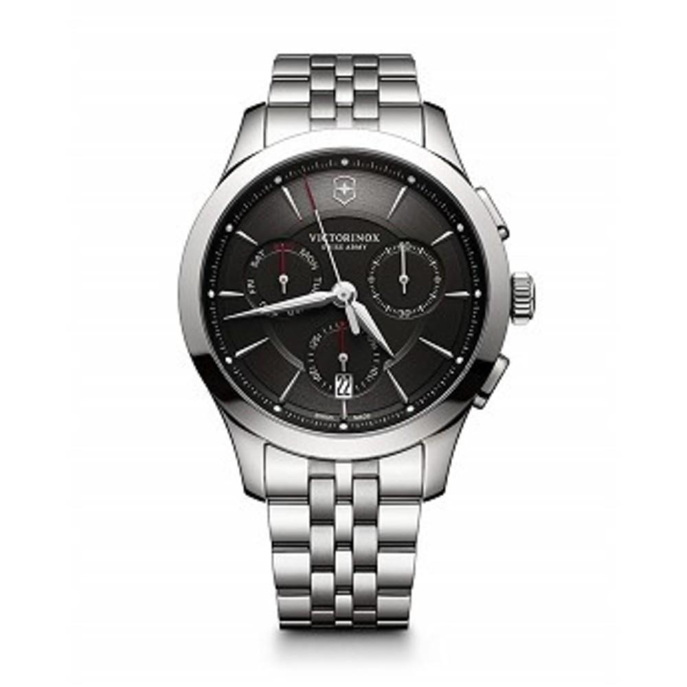 Victorinox Swiss Army Mens Alliance Chronograph Watch Black Dial