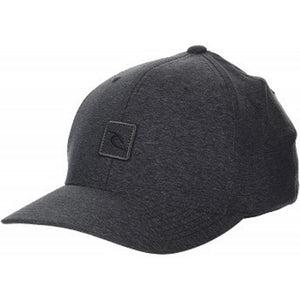 Rip Curl Mens Icon Voyager Flexfit Charcoal Gray