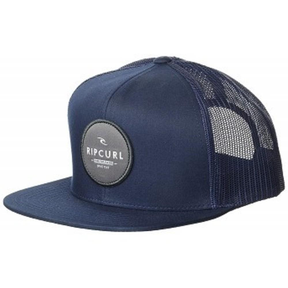 Rip Curl Mens Patch Trucker Mesh Hat, Routine Navy 1SZ One color(ワンカラー)