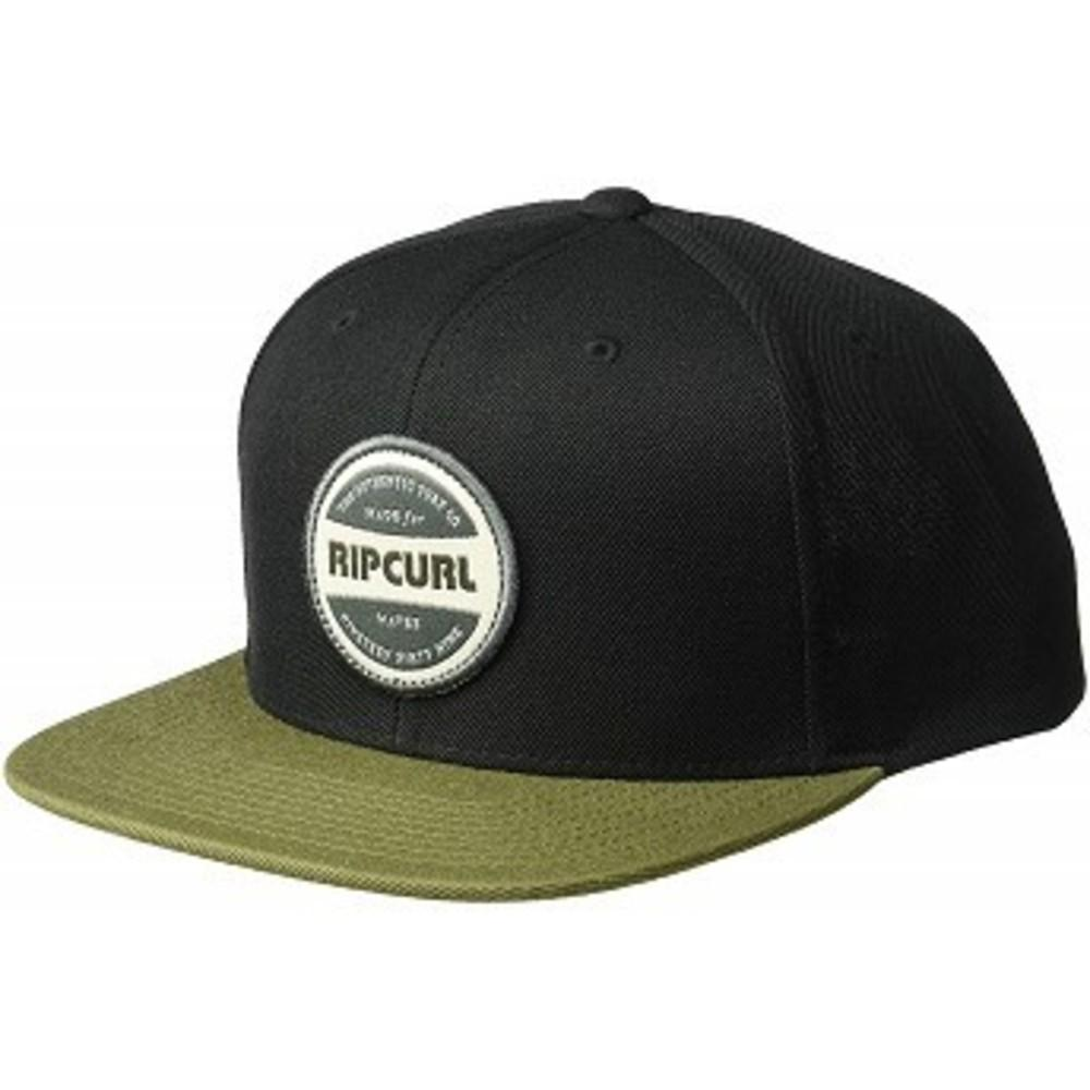 Rip Curl Mens Staple Snapback Black-Green