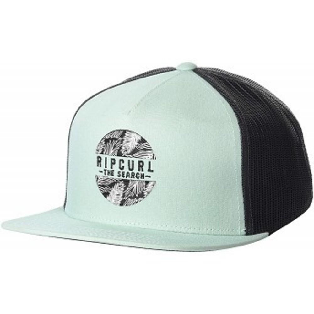 Rip Curl Mens Patch Trucker Mesh Hat Bolero Aqua