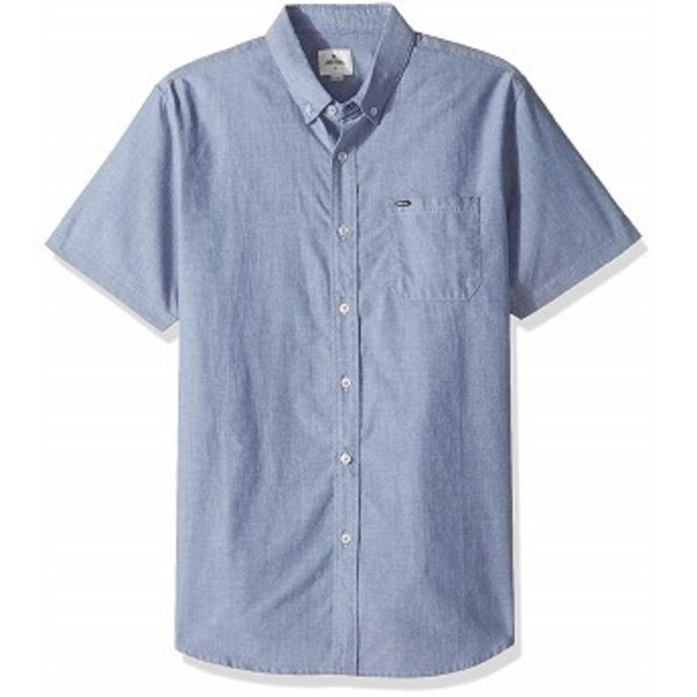 Rip Curl Mens Ourtime S/s Shirt, Insignia Blue XL One color(ワンカラー)