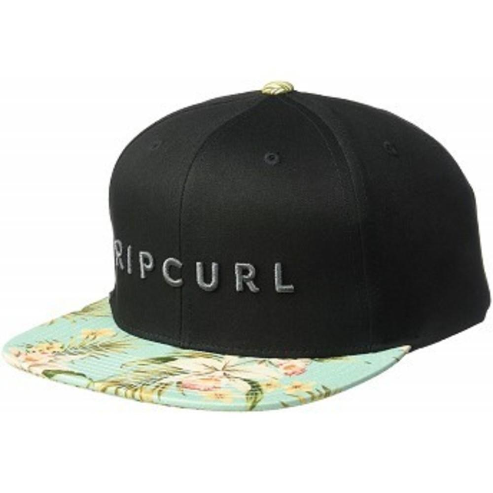 Rip Curl Mens Valley Blade Snapback Hat ブラック