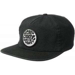 Rip Curl Mens Washed Wettie Snapback Hat ブラック