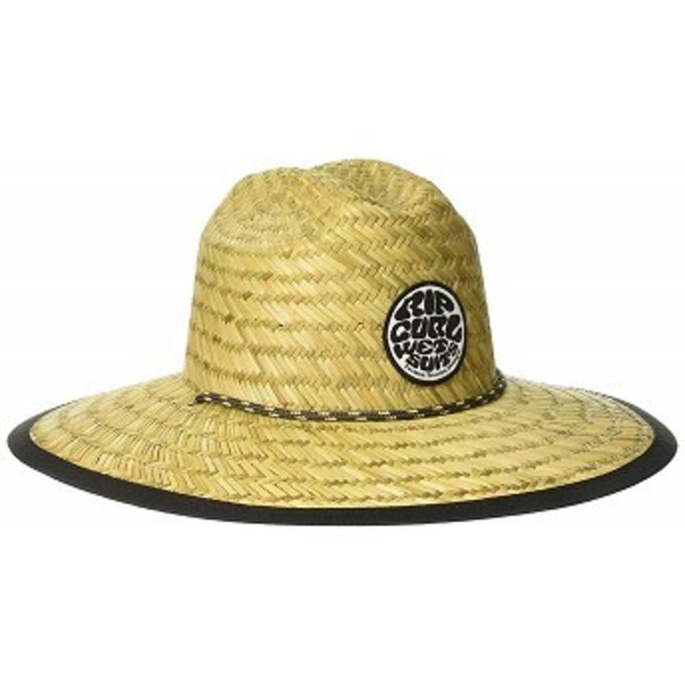 Rip Curl Mens Paradise Straw Lifeguard Sun Hat Baywatch