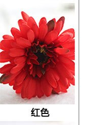 Gerbera Artificial Flower for Wedding Decoration Silk Flowers Daisy 1PC 55cm Fake Flower African Chrysanthemum Party Home Decor