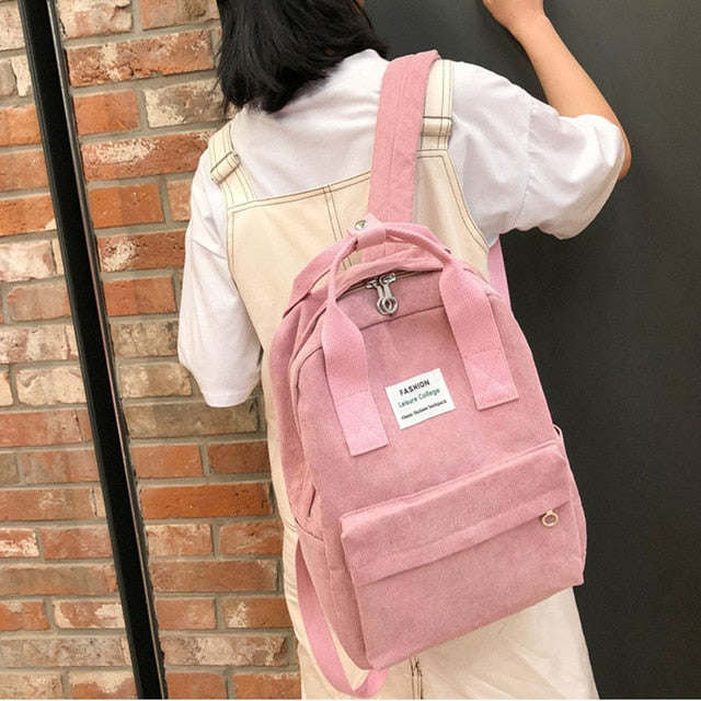 New Trend Female Backpack Fashion Women Backpack College School School Bag Harajuku Travel Shoulder Bags For Teenage Girls 2020