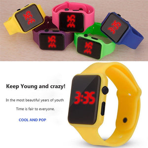 Men Sports LED Watches Men Digital Watch Men Watch Silicone Electronic Wristwatches Electronic Clock Hodinky digital relogio Y5