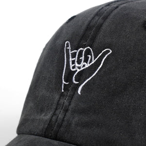 2019 New finger embroidery cap outdoor leisure Washed Baseball Caps Adjustable Hip Hop hat  100%Cotton Women Man  hats