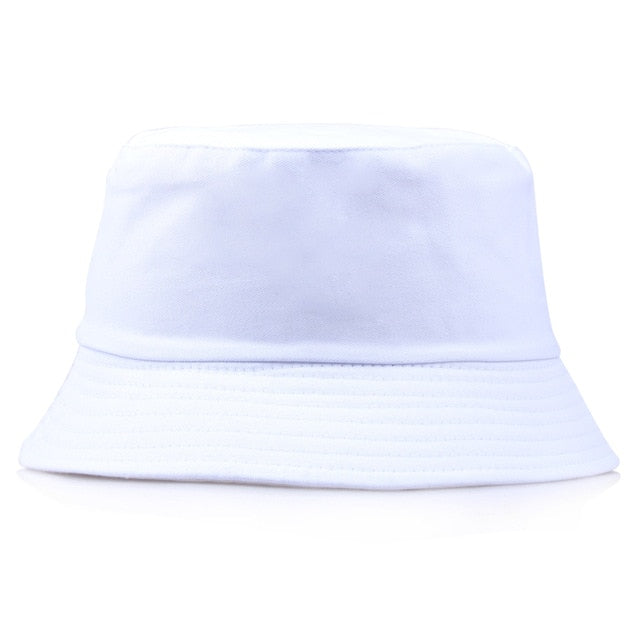 Unisex Embroidery Aliens Foldable Bucket Hat Women Men Beach Sun fishing hat Bob Summer Outdoor fisherman hat gorro pescador