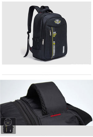 Men's High-Quality Nylon Backpack Multi-Function Variety Of Color Climbing Travel Backpack Youth Casual Fashion Large Capacity