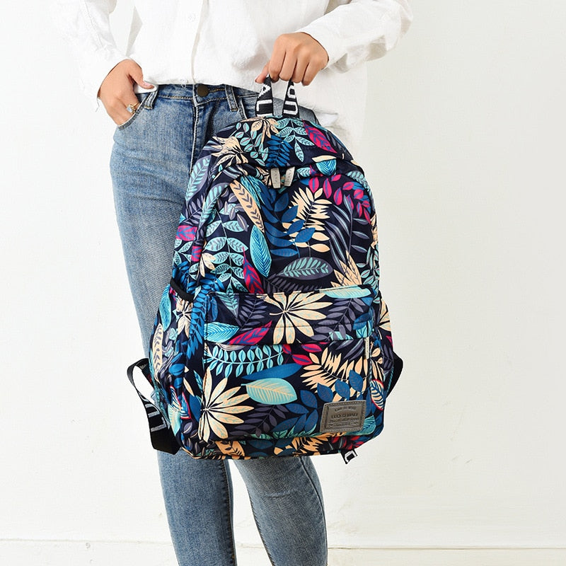 Print Hawaii Style Brand 2020 Backpacks For School Teenagers Girls Bags Fashion Women Travel Back Pack