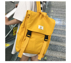 Waterproof Backpack Women Canvas School Bags Travel Bag for Teenage Girls Bagpack Rucksack Ladies Sac A Dos Mochila Mujer 2019