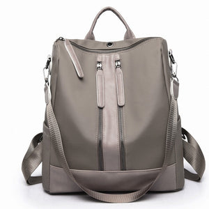 NewBackpack Women's Korean-StyleFashion Simple Backpack Large Capacity Outdoor Travel Waterproof Bag Student Bag small backpack
