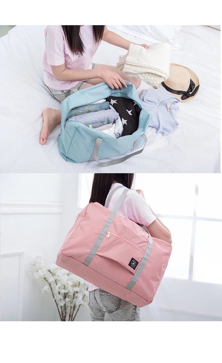 Large Capacity Packing Cubes Portable Luggage Bag Waterproof Travel Bag Unisex Foldable Duffle Bag Organizers Travel Accessories