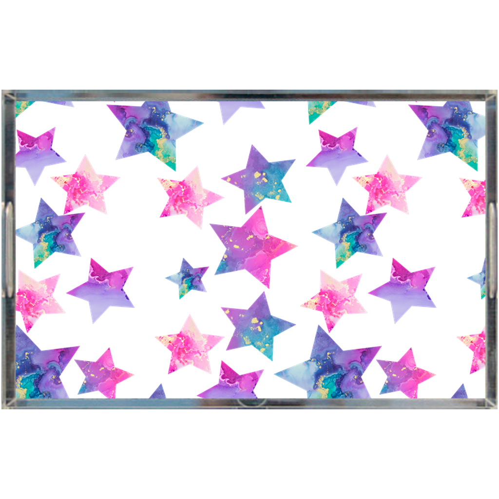 Trays Acrylic Tray - Hallie Star - Glitter Enthusiast