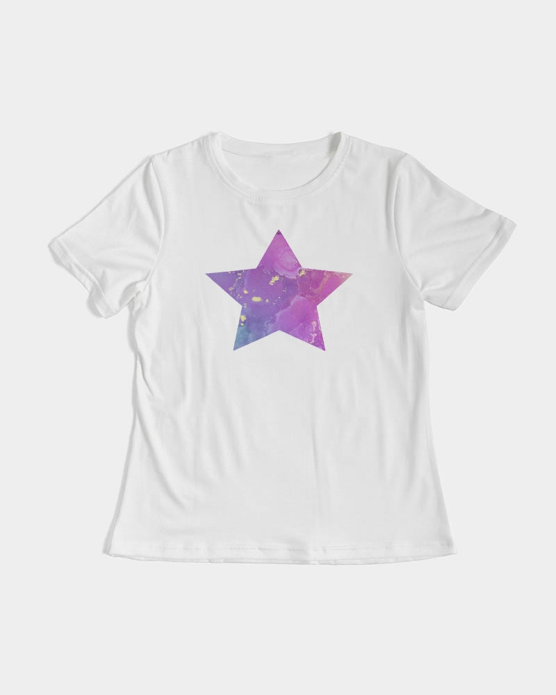 Women's Tee- Hallie Star Purple