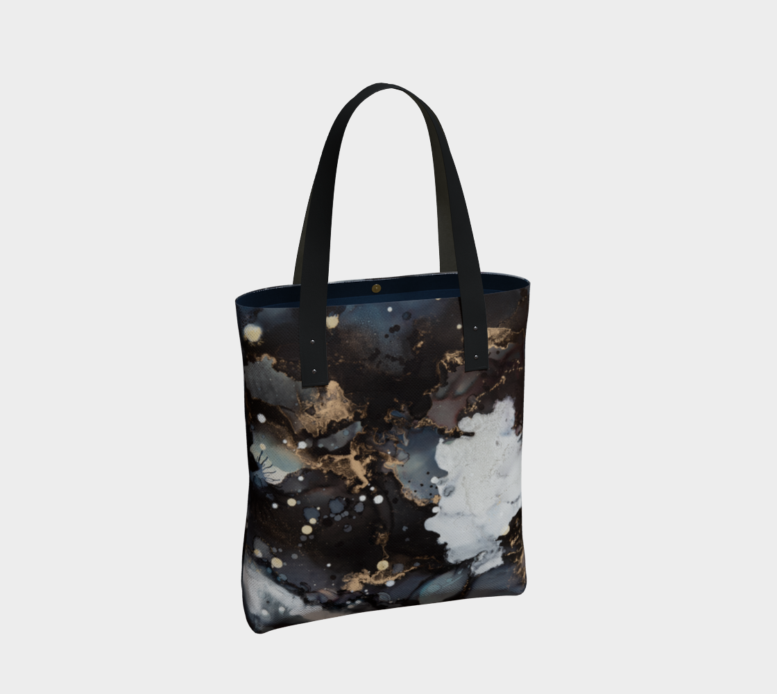 Bags Tote Bag - Ginger Print - Glitter Enthusiast