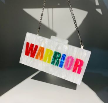 Bags Warrior Clutch - Glitter Enthusiast