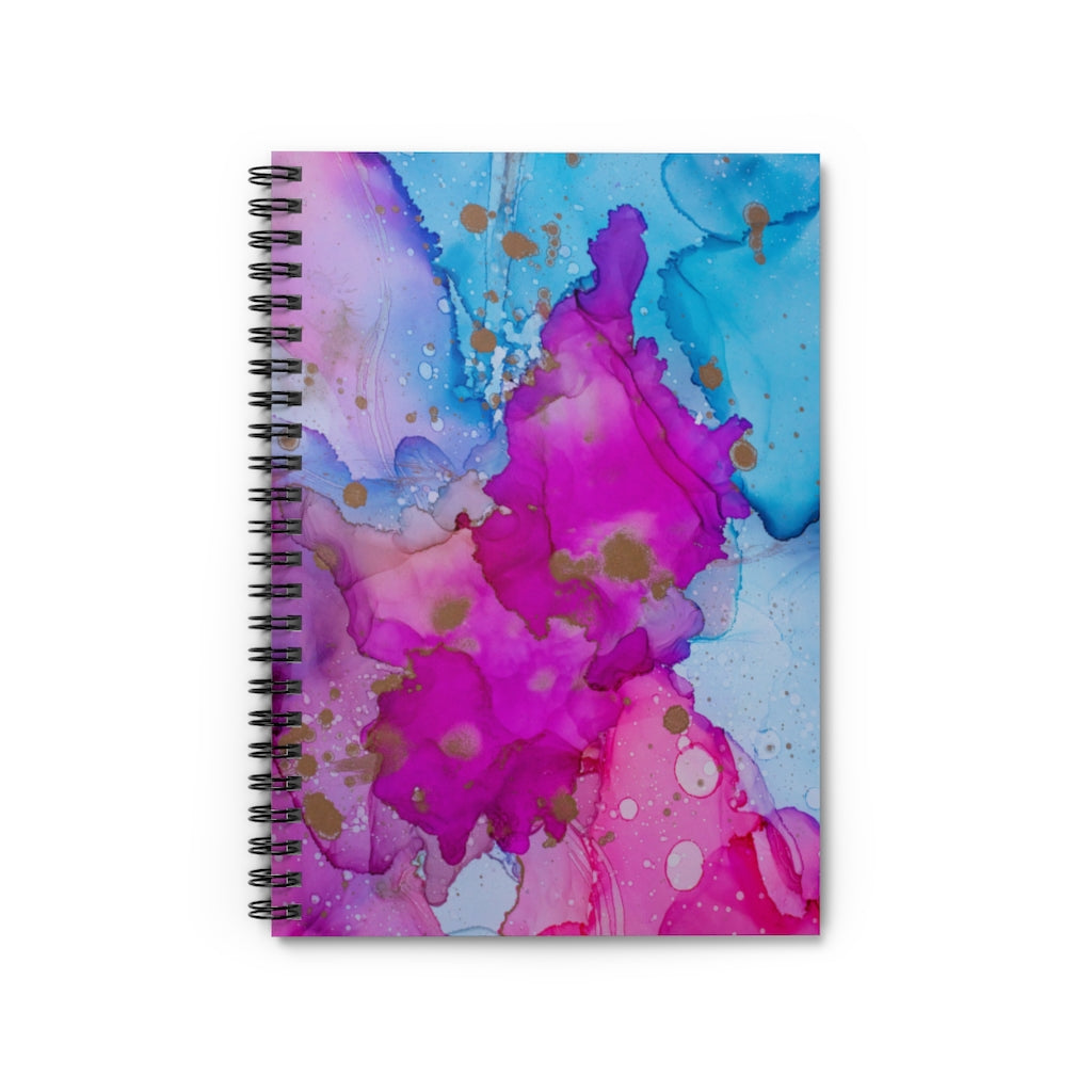 Desk Spiral Notebook - Whitney - Glitter Enthusiast