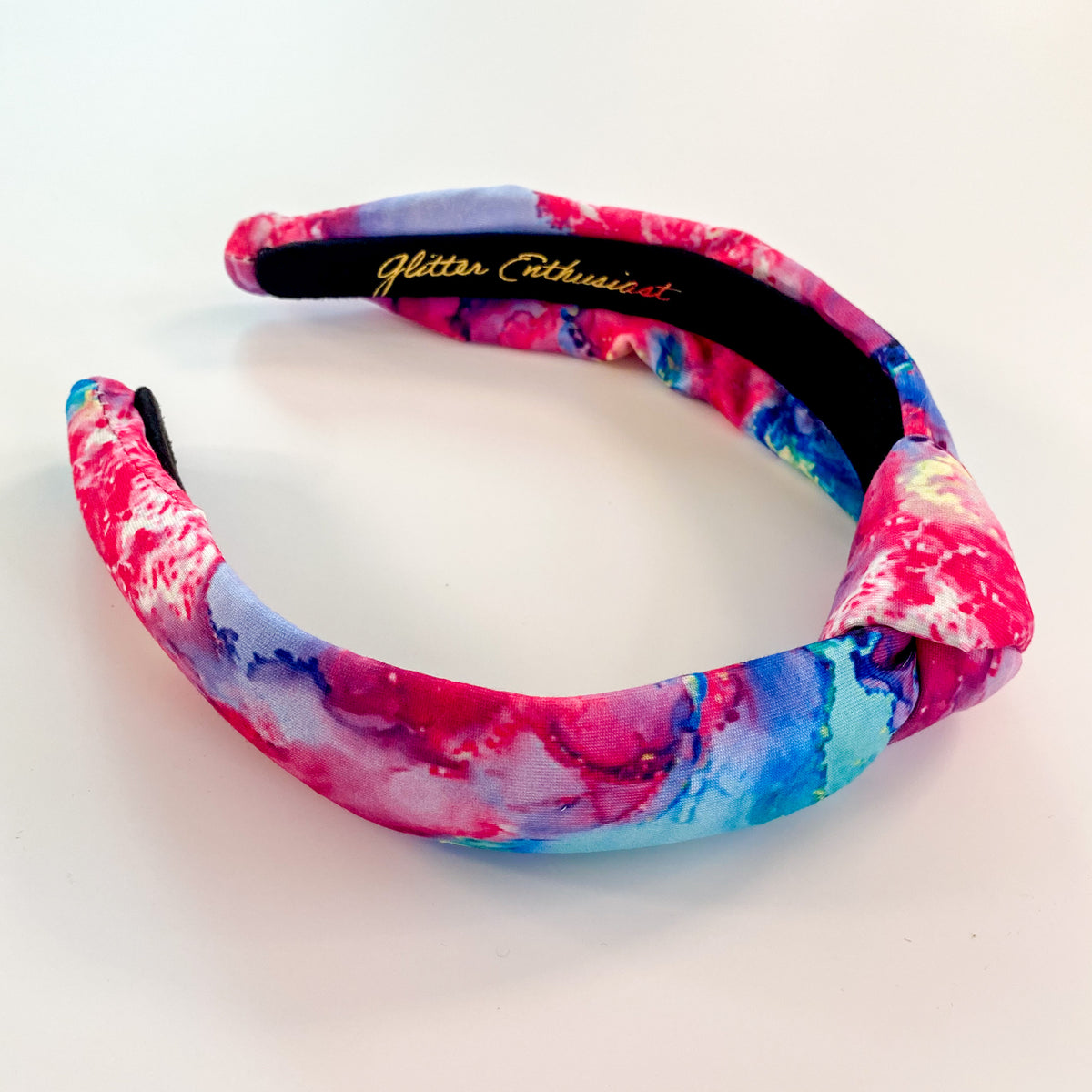 Kids Headbands Hallie Slim Top Knot Headband - Glitter Enthusiast