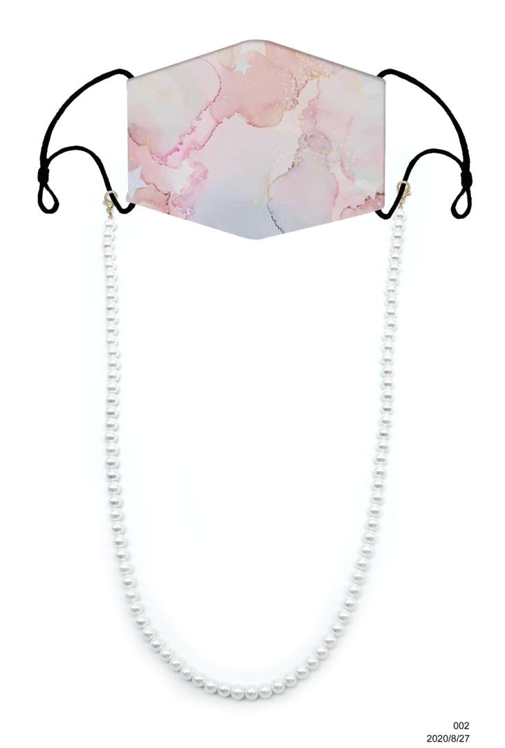 Mask Chain - Pearl 8mm
