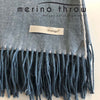 Thow - Australian Wool Throw - Blue Mist