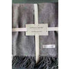 Throw - Australian Wool Throw - Deep Grey