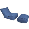 Evolution Chaise Set (Blue Jazz)