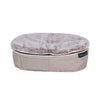 (S) Premium Indoor/Outdoor Pet Bed (Cappuccino)
