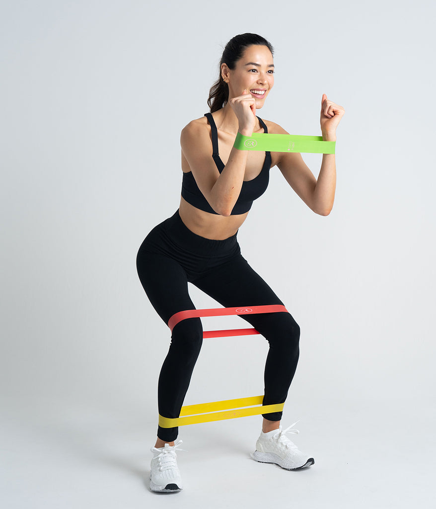 5 Resistance Bands set + free pouch